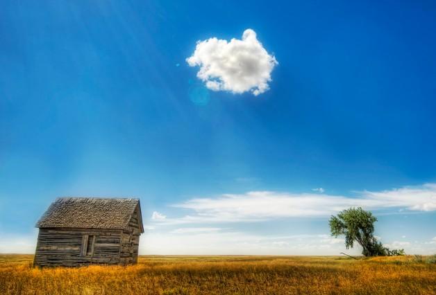 Last cloud in the sky